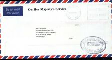 FF-20 FALKLAND-MALVINAS 2002 COVER TO BSAS ARGENTINA OHMS (SMALL LETTERS)