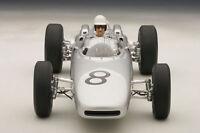 1:18 Autoart Porsche 804 F1 1962 Jo Bonnier Du Nürburgring #8 Avec