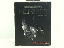 Pioneer HDJ-2000-K DJ Headphones W/ Detachable Cord