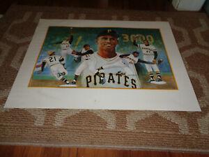 Roberto Clemente Poster 18x24 Pittsburgh Pirates Sports Baseball Memorabilia