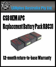 CSB OEM APC Replacement Battery Pack RBC31 UPS 1000 SURT1000XLI SURT48XLBP