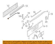 NISSAN OEM 04-12 Titan Tailgate-Lock or Actuator Latch Release 90501ZJ00A
