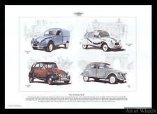 Citroen 2CV Charleston Beachcomber Fourgonette Print