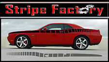 DODGE CHALLENGER SIDE STROBE 2008, 2009, 2010 STRIPE FACTORY DECALS