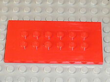 LEGO ELECTRIC TRAIN 9v 9 v red plate ref 6576 / sets  4549 4565 6335