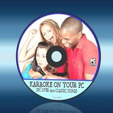 Super Máquina De Karaoke En Cualquier pc/laptopinc Inc Software & 2500 songs/lyric Nuevo Cd