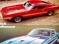 1969 FORD MUSTANG SHELBY COBRA GT 500/350 ORIGINAL AD-302/351/390/428/429/engine