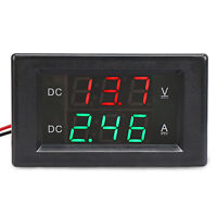 Digital Voltmeter Ammeter DC 0.0~300V/20A Led Dual Display Voltage Current Meter