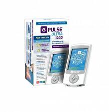 E-Pulse Ultra 1200 TENS EMS & CES system. FDA Class II Medical device. Tens unit