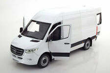 Norev 2018 Mercedes Benz Sprinter Delivery Van White in 1/18 Scale New Release!