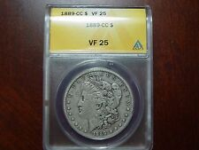 1889 CC Morgan Dollar VF 25 ANACS
