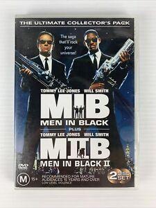 Men In Black / Men In Black II (DVD, 2004, 2-Disc Set) FREE TRACKED POST