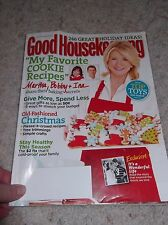 Vintage Good housekeeping DEC 2010 Best Ideas for Christmas, Baking, Crafts