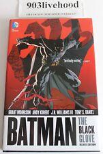 DC COMICS BATMAN - THE BLACK GLOVE DELUXE HC HARDCOVER SIGNED TONY DANIELS
