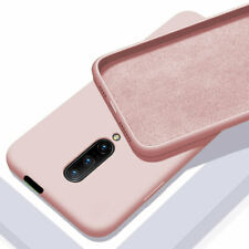 Slim Liquid Silicone Rubber Case Cover for One Plus 7T 7 Pro 6T Shockproof Skin