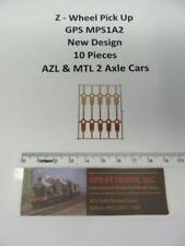 Z GPS   MPS1A2 New Design Spring Bronze Wheel Pick-Up for AZL & MTL Two Axles