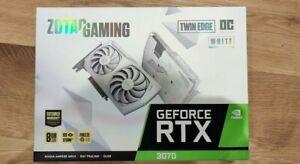 Zotac GeForce RTX 3070 Twin Edge 8GB OC - overclock limited white edition