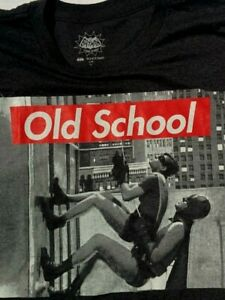 Licensed DC Comics West Ward BATMAN OLD SCHOOL Adult T SHIRT XL Gray NWT 2014