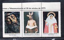 Viñetas con Imagenes de la Semana Santa de Sevilla año 1973 (CV-897)