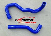 Silicone radiator hose for NISSAN PATROL Y61 TD42 4.2L DIESEL 12/1997-ON BLUE