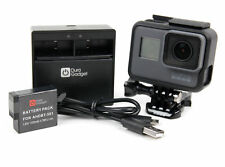 GoPro Hero5 Gift Set - 1220mAH Power Battery & Dual USB Travel Battery Charger