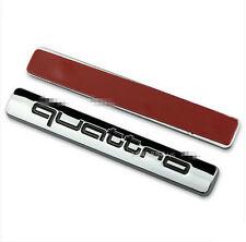 AUDI Quattro SELF ADHESIVE BADGE LOGO EMBLEM A1 3 4 5 6 7 Q3 5 7 TT S RS line BK
