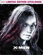 X-Men:The Last Stand Limited Edition Steelbook (Blu-ray + Digital HD) Brand New