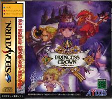 (Used) Sega Saturn Princess Crown [Japan Import]