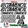 9 Stickers Commencal - Autocollants Adhésifs Cadre Velo Bike VTT Montain - 186