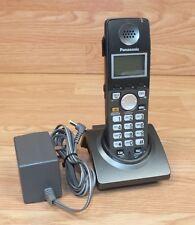 Genuine Panasonic (KX-TGA670B) 2 Line Expansion Handset, Base & Power Supply