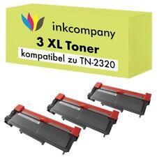 3 tóner para Brother tn2320 DCP l2500d l2520 DW l2540 DN l2560 DW l2300 l2340 XXL