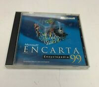 Microsoft Encarta Encyclopedia 99 CD-ROM