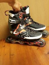 K2 Roller Blades EXO M Tech In-line Skates Mens Size US 9 EUR 42 Black Red White
