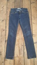 TOPSHOP MOTO Woman's Dark Blue SLIM/ SKINNY stretch Jeans. SIZE W25 L32. EXC.