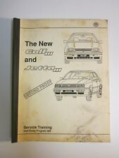 Volkswagen   Training Manual  Golf  Jetta  1993