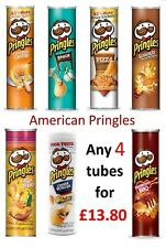 American Pringles - american IMPORT - USA snacks - pick any 4 tubes - Pizza -