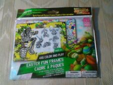 TMNT Easter Pop Outz 4x6 Fun Picture Frames 46 Pcs Frames Decorations Markers