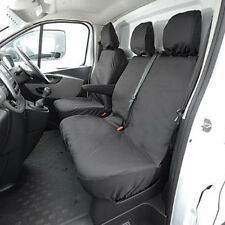 Renault Trafic Leatherette Heavy Duty Tailor Fitted Van Seat Covers Waterproof