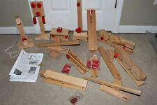 Lot Crusader Educational Simple Wood Lever Gear Machine Homeschool Physics Toys