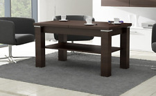 EXTENDABLE LIFT UP QUALITY LARGE COFFEE TABLE MODERN 2 COLOURS CONTEMPORARY