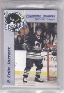2000-01 Plymouth Whalers Team Set A Sealed