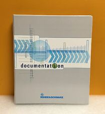 Rohde & Schwarz 744.1180.11.01-1 Automatic Filter FT 213A Operating Manual, New