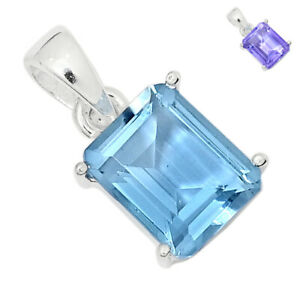 Colorchange Alexandrite (Lab.) 925 Sterling Silver Pendant Jewelry BP94288