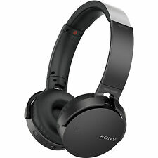 Sony Bluetooth Headphone Wireless MDR-XB650BT EXTRA BASS with NFC (Black) SMP4
