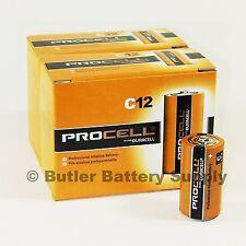 24 x C Duracell Procell Alkaline Batteries (PC1400, LR14)