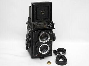 Yashica Mat 124G 6x6 TLR 120 Film Camera W/ Yashinon 80mm F3.5 Good* from UK