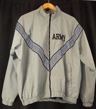 ARMY Skilcraft IPFU Mens Armed Forces Full Zip Windbreaker Jacket L
