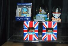 Lot Of 5 Collectable Travel Uk England Souvenir Snowglobes