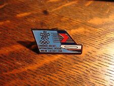 Canadian Airlines Pin - Vintage 1988 Calgary Canada Winter Olympic Games Hat Pin