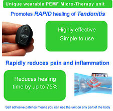Treatment for achilles tendonitis advanced PEMF, electromagnetic therapy device